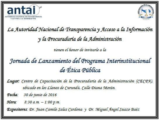 Jornada De Lanzamiento Del Programa Interinstitucional De